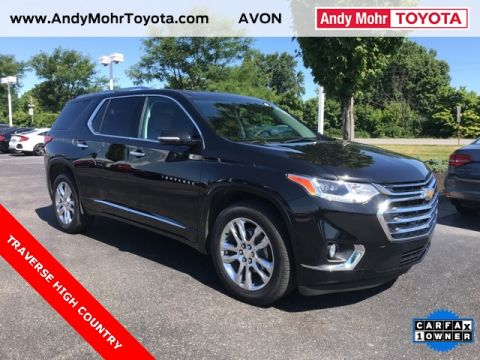 Used cars for sale avon in andy mohr toyota pre owned 2018 chevrolet traverse high country fandeluxe Gallery
