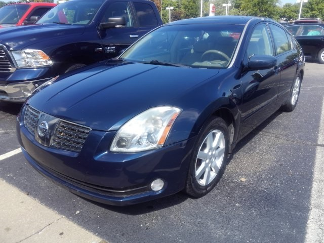 Used 2005 nissan maxima 35 se 4d sedan near indianapolis t18550b pre owned 2005 nissan maxima 35 se fandeluxe Gallery