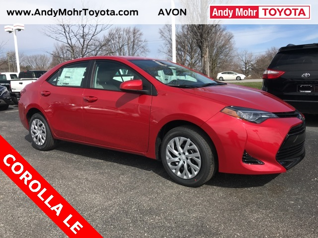New 2018 toyota corolla le 4d sedan near indianapolis c18371 andy new 2018 toyota corolla le fandeluxe Images