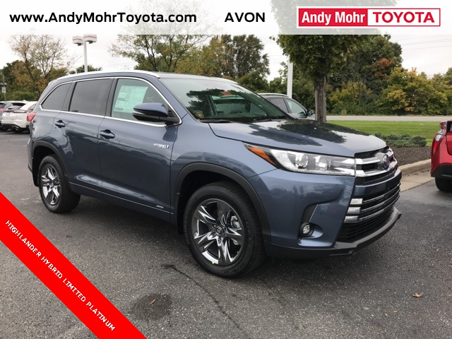 New 2019 Toyota Highlander Hybrid Limited Platinum For Sale T19066