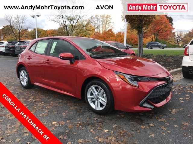 New 2019 Toyota Corolla Hatchback Se For Sale C19089 Avon In Andy