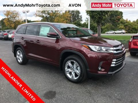 New Toyota Highlander For Sale Avon In Andy Mohr Toyota